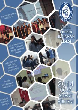 Ekrem Elginkan Lisesi Ocak - İTÜ Geliştirme Vakfı Okulları