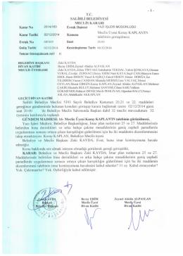 ,. ^Jg^ - Salihli Belediyesi
