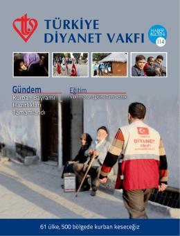Haber Bülteni 114. Sayı - Türkiye Diyanet Vakfı