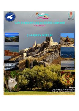 Van Turizmi Geleceğini Arıyor Çalıştay Raporu