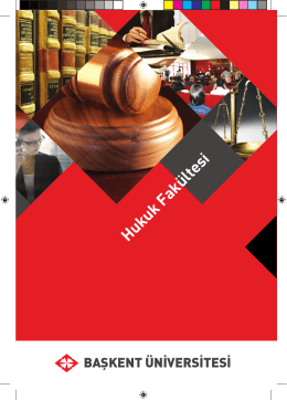 Hukuk Fakültesi - Başkent Üniversitesi Adaylara Bilgi