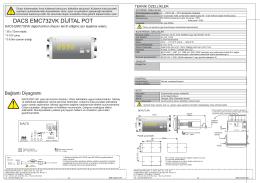 DACS EMC732VK DİJİTAL POT