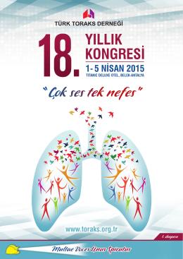 kurslar - Türk Toraks Derneği 18. Yıllık Kongresi
