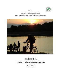 Eskişehir İli Doğa Turizmi Master Planı