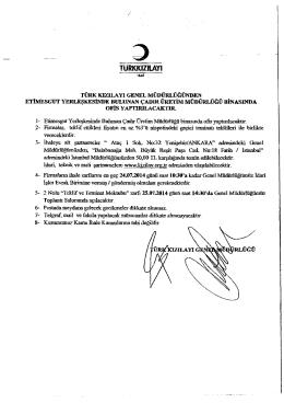 tc zon an tc ankara 14. asliye ticaret mahkemesi`nden ilan