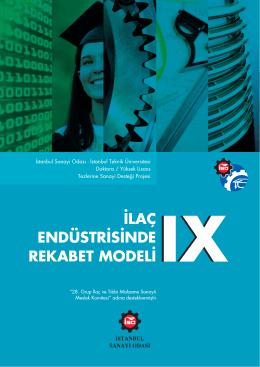 İlaç Endüstrisinde Rekabet Modeli, İstanbul Sanayi Odası (2012)