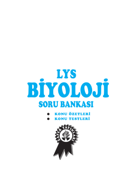 LYS BIO S.B - Zafer Yayınları