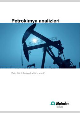 Petrokimya analizleri