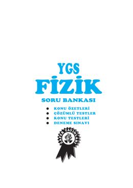 ygs fizik sb - Zafer Yayınları