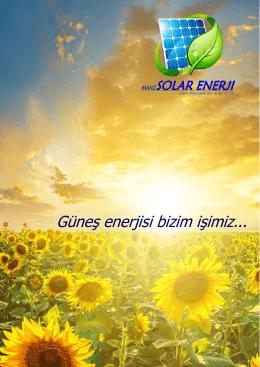 Kataloğu Görüntüle - Manz Solar Enerji
