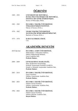 Yukarıdaki yayına atıfta bulunan yayınlar