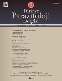Özgün Araştırmalar / Original Investigations Cilt / Volume: 38 Sayı