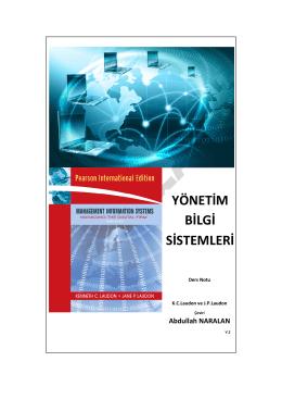 MIS Laudon Türkçe V.2
