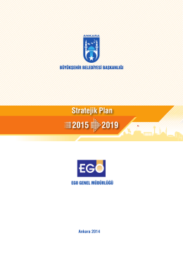 Stratejik Plan 2015 2019