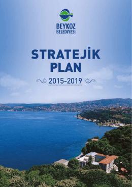 Beykoz Belediyesi Stratejik Plan 2015
