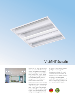 V-LIGHT Sıvaaltı