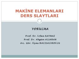 Yorulma - Mehmet Adem Yıldız