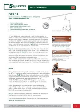 FixZ-15 - Schletter GmbH