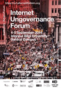 Internet Ungovernance Forum - Alternatif Bilişim Derneği