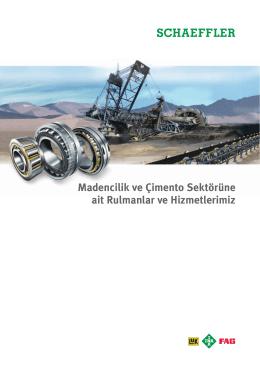 Madencilik ve Çimento Sektörüne