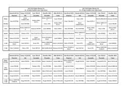 24 Şubat - 28 Mart Öğretmen Nöbet Listeleri