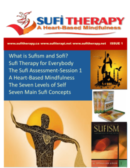 Sufi Therapy for Everybody