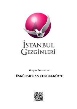 buraya - İstanbul Gezginleri