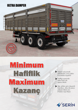 Minimum Hafiflik Maximum Kazanç
