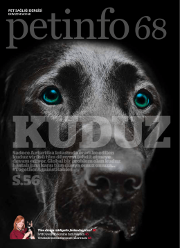 EKİM 2014 - Petinfo Dergi