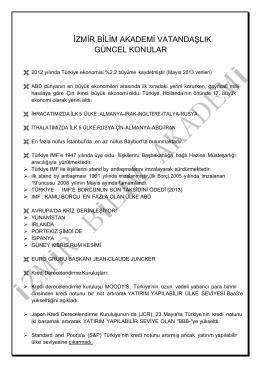 2014 Vatandaşlık Güncel Konular (PDF)
