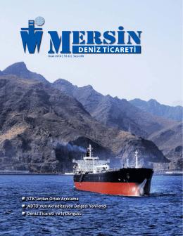 Deniz Ticareti Dergisi Ocak 2014 Sayısı