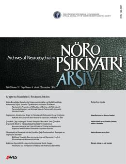 Araştırma Makaleleri / Research Articles