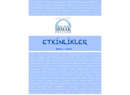 ETKİNLİKLER - Irmak Okulları
