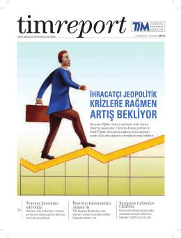 artış bekliyor - Türkiye İhracatçılar Meclisi