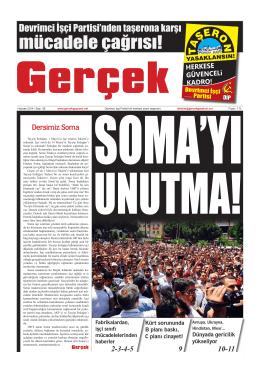 Gerçek Gazetesi Sayı 56 İndir (PDF)