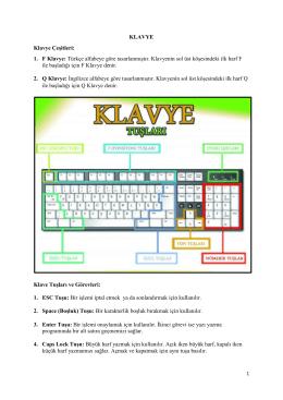 5. Sınıf Bilişim Teknolojileri Ders Notları 2