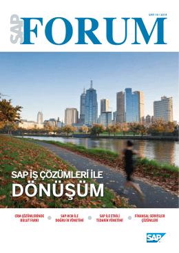 DÖNÜŞÜM - SAP Forum