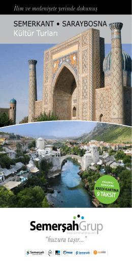 Kültür Turları - Semerşah Turizm