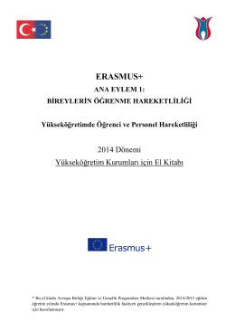 ERASMUS Uygulama El Kitabı - Hacettepe Üniversitesi Avrupa
