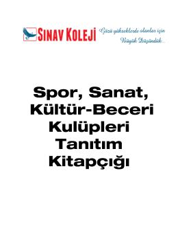 lise go kulübü - Antalya Sınav Koleji