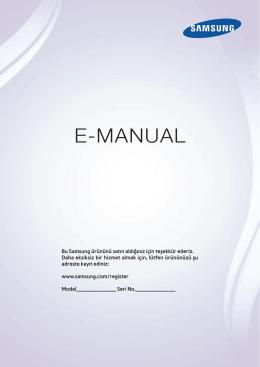 Samsung UE46F8000 Kullanım Kılavuzu (TR) - Epey