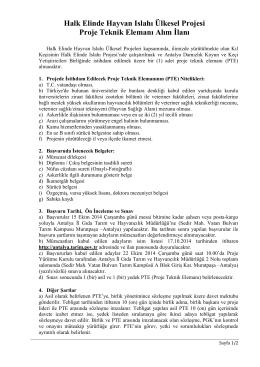 antalya.ilan.PTE.1 son - Antalya İl Gıda Tarım ve Hayvancılık