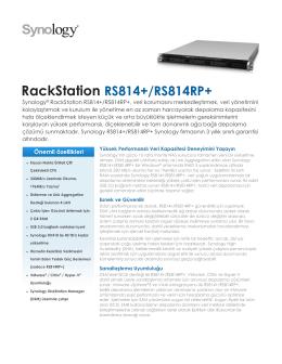 RackStation RS814+/RS814RP+