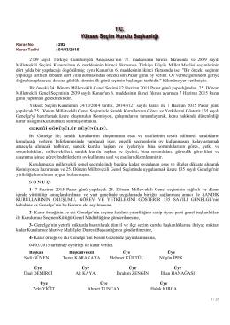 2709 sayılı Türkiye Cumhuriyeti Anayasası`nın 77. maddesinin