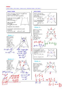 Yamuk - 11.sınıf mat çözüm videoları