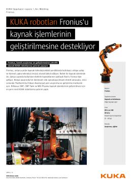 Fronius - KUKA Robotics
