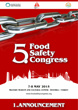 commıttees - foodsafetycongress.org