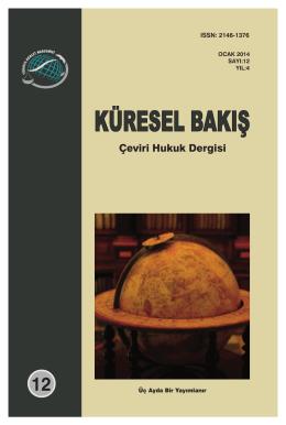 küresel kapak - TAA Yayınları