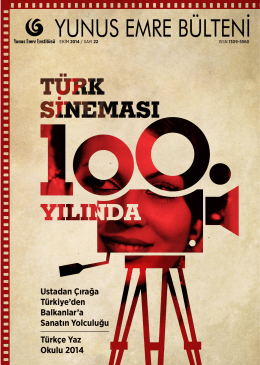 PDF - Yunus Emre Enstitüsü