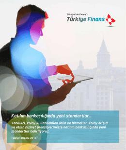 2013 Faaliyet Raporu (Tam PDF) - Türkiye Finans Katılım Bankası